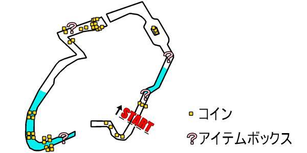 マリオカート8_3DS パックンスライダー