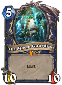 ハースストーン - 嵐の守護神