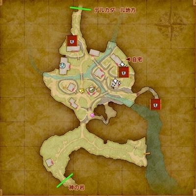 ドラクエ11マップ-イシの村