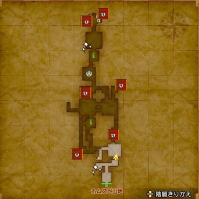 ドラクエ11マップ-荒野の地下迷宮