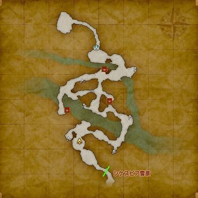 ドラクエ11マップ-ミルレアンの森