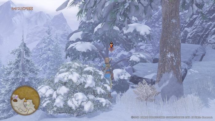 ドラクエ11_シスケピア雪原1