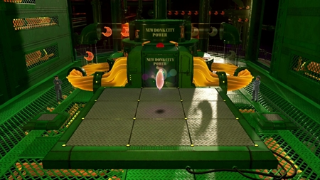 発電所でお手伝い-スーパーマリオオデッセイ