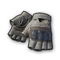 pubg skin Fingerless Gloves (Tan)