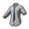 pubg skin School Shirt with Blue Necktie