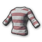 pubg skin Long Sleeved T-shirt (Striped)