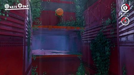 トンネル内にひっそりと-スーパーマリオオデッセイ