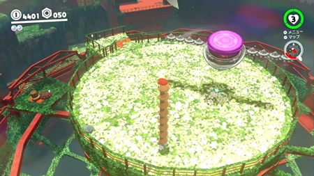 空中庭園のやっかいもの-スーパーマリオオデッセイ