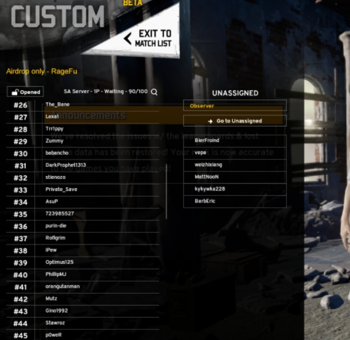 PUBG custom-mode2