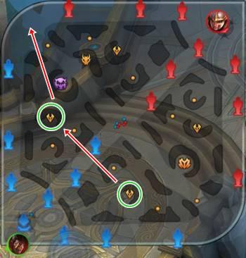 AOV マップ 攻略 回り方