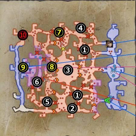 上月城決戦_マップ
