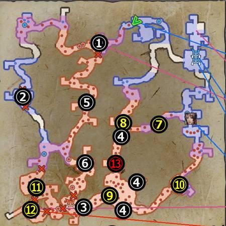 小谷城決戦_マップ