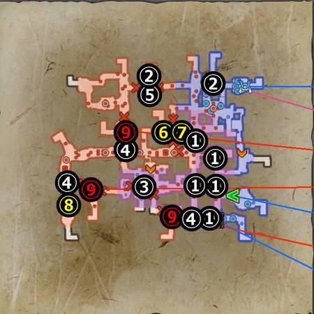 六条合戦_マップ