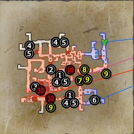 槇島城の戦い_マップ