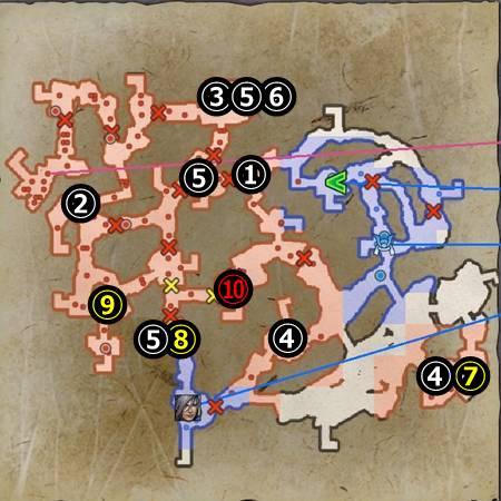 信貴山城の戦い_マップ