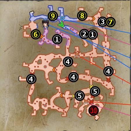 高天神城の戦い_マップ