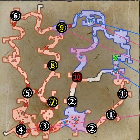 北近江の戦い_マップ