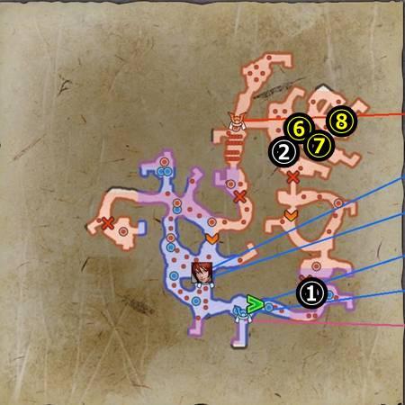 刀根坂の戦い_マップ