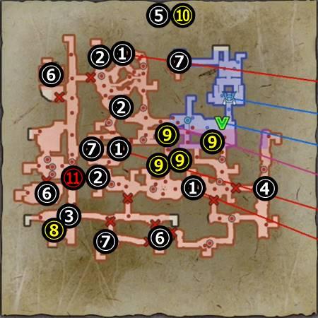 真・本能寺の変_マップ